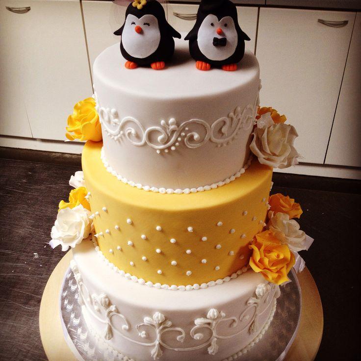 My first weddingcake!
