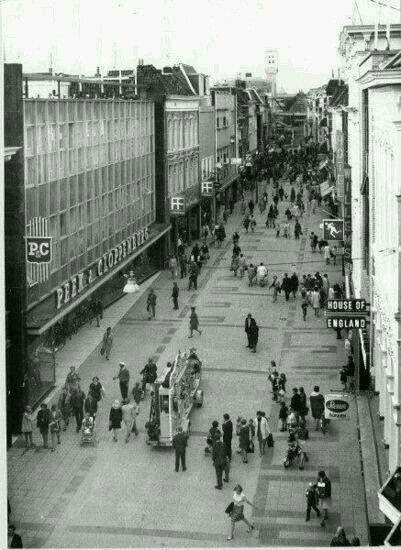 Herestraat Groningen 1969