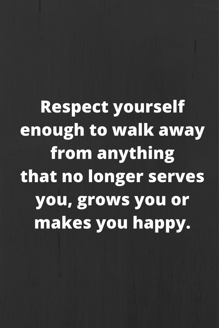 Inspirational Quotes On Self Respect