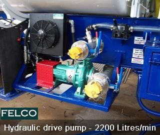 #Felco Developed Very High Capacitive #Hydraulic drive pump for #Container #Tanker and #Trucks, its Capacity is 2200 Litres / minute.  http://goo.gl/15Pbn1