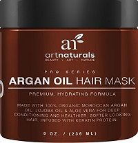 Art Naturals Argan Oil Hair Mask...Read More at http://www.hairstraightenermodels.com/heat-protectant-damaged-hair/