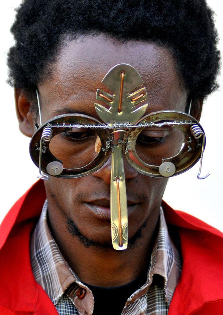 cyrus kabiru sculptural eyewear designboom