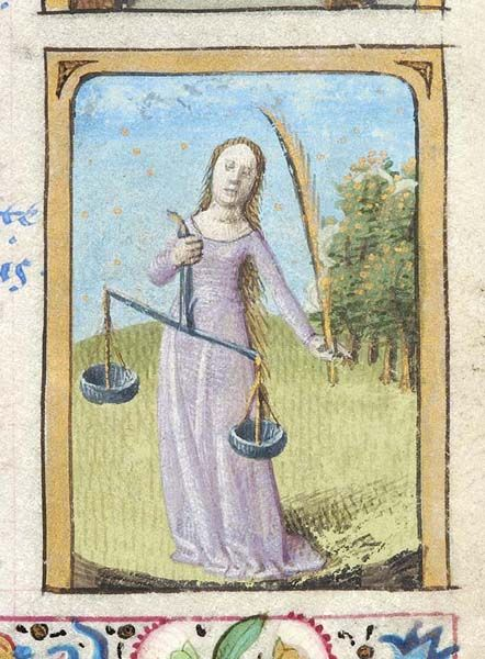 Libra | Book of Hours |  France, Paris | ca. 1470 | The Morgan Library & Museum