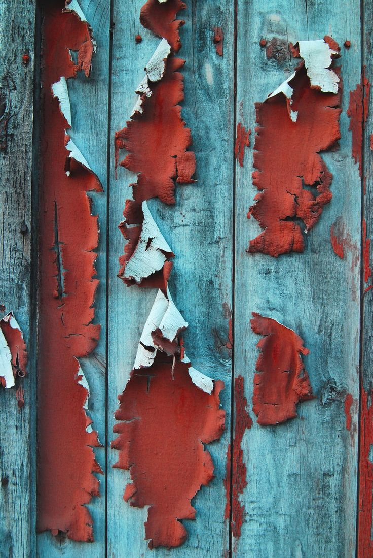 Peeling paint... beauty in decay: colour & texture inspirations