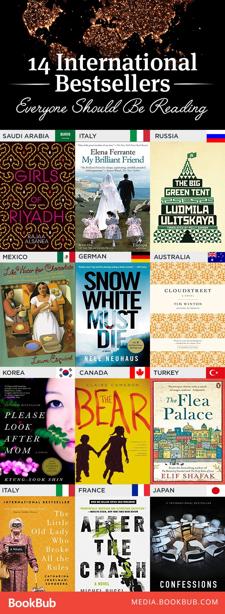 14 International Bestsellers You May Not Have Read, But Should