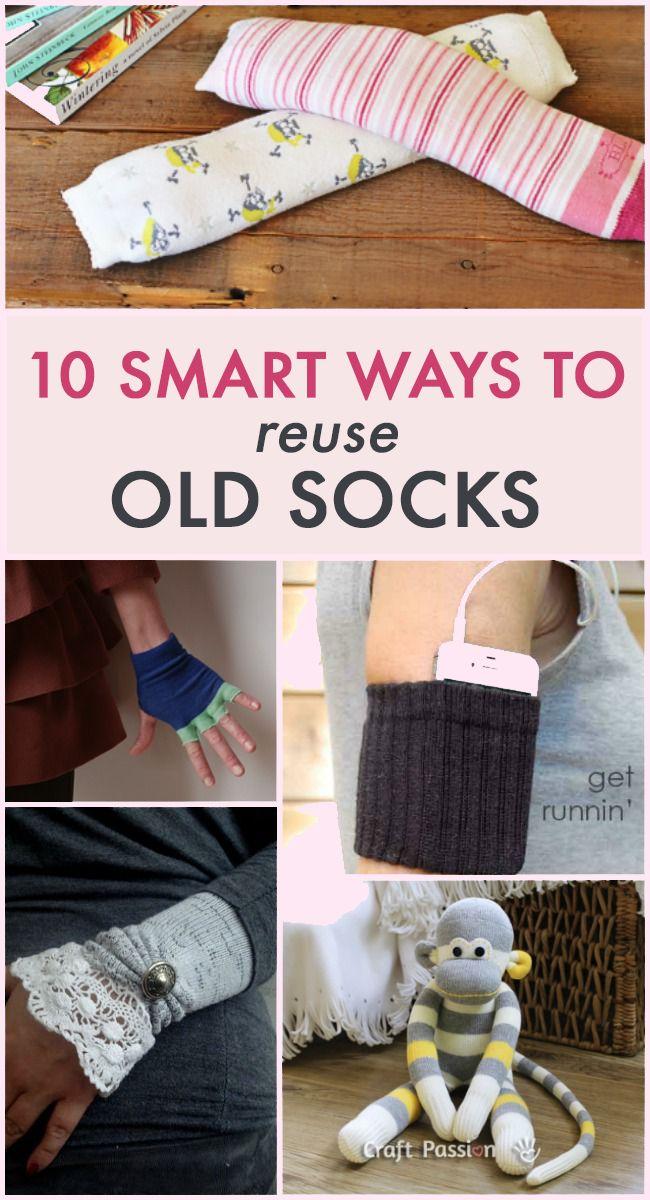 10 Ways To Reuse Old Socks                                                                                                                                                                                 More