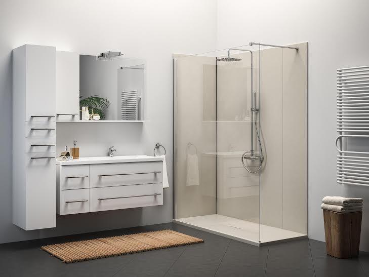Glass: nuovi materiali per docce http://atutto.net/1FKbT2e #Bagno, #Doccia, #Glass, #PiattiDoccia, #RivestimentiDoccia, #SistemaDoccia