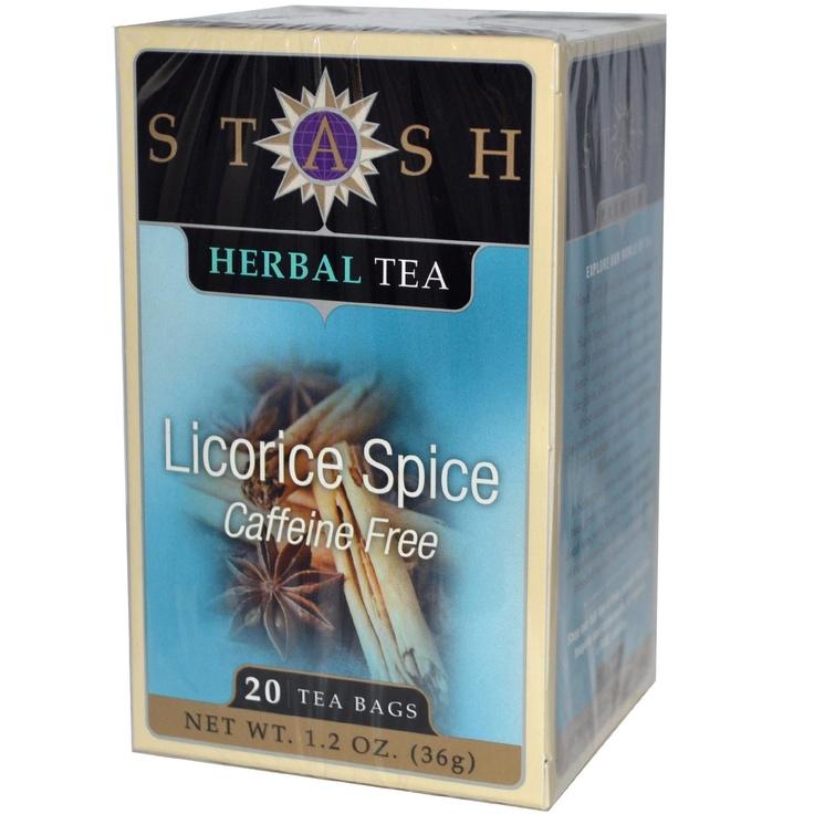 Stash Premium Licorice Spice Herbal Tea   Stash Tea Company. So delicious!