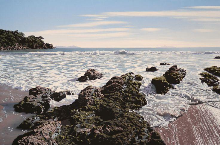 Parnell Gallery artist Matt Payne Ding Bay 1 http://www.parnellgallery.co.nz/artworks/artist-matt-payne/ding-bay-1/