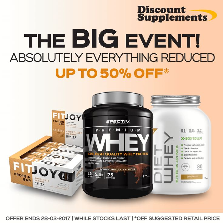 EVERYTHING on our website reduced today! Proteins, bars, fat loss supps… everything! www.discount-supplements.co.uk #GoldStandardWhey #GrenadeCarbKilla #protein #proteinbars #OptimumNutrition #whey #bodybuilding #fit #gym #football #rugby #cycling #diet #snickers