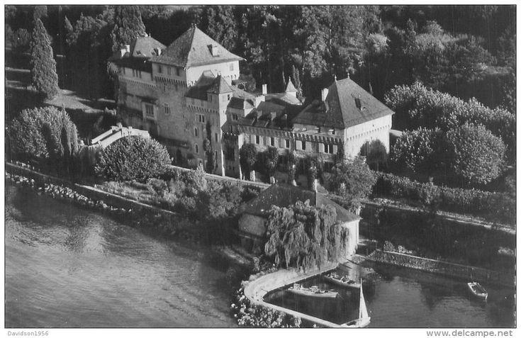 Lugrin - petite cpsm - Lugrin Tourronde - le château de la Duchesse de Vendôme W533