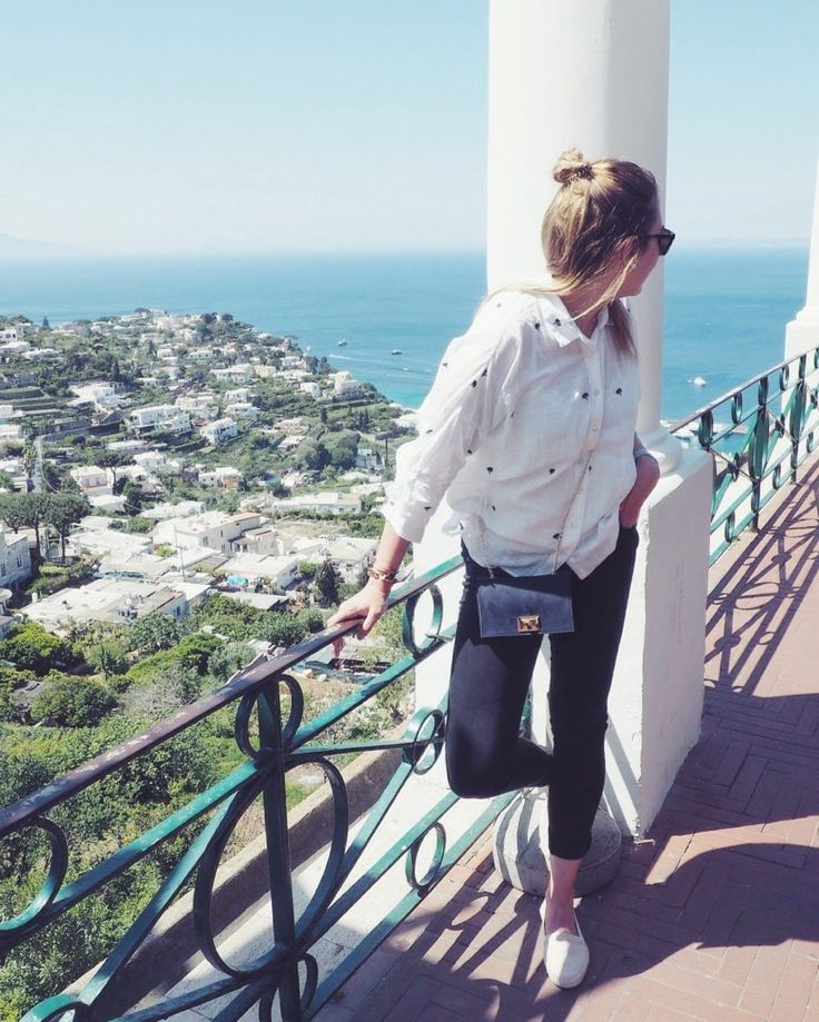 AIDA Mediterrane Highlights 1 - Mittelmeer Kreuzfahrt, Capri, Italy, Amalfy, Streetstyle, Summerlook, Fashioninspo, Halfbun