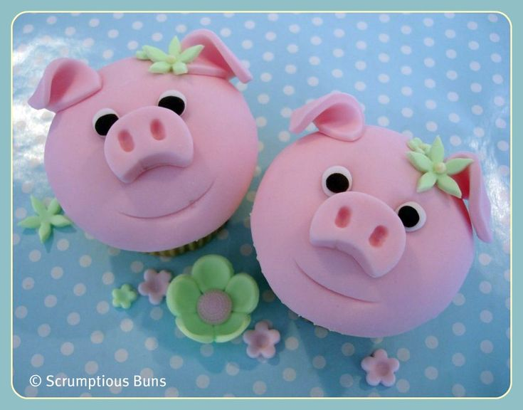 Pink Pig Cupcakes | Flickr - Photo Sharing!