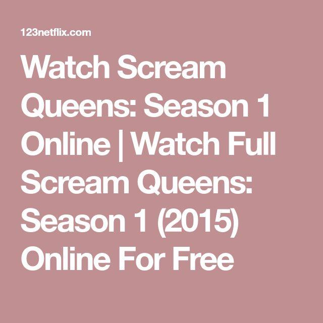 Watch Scream Queens: Season 1 Online | Watch Full Scream Queens: Season 1 (2015) Online For Free