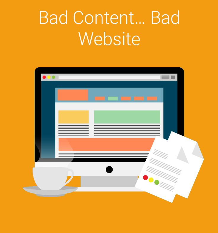 Cutting corners on content development will have a negative impact on your website. Big time.