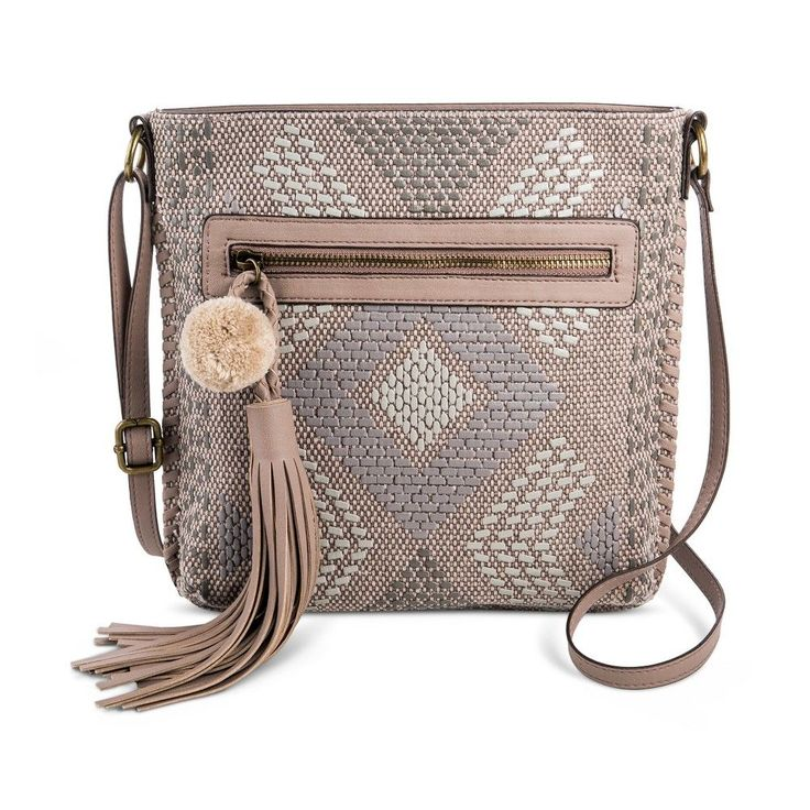 T-Shirt & Jeans Women's Natural Instincts Crossbody Handbag - Taupe (Brown)