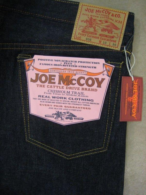 Joe McCoy Lot 906 Slim Straight - DC4 Shop