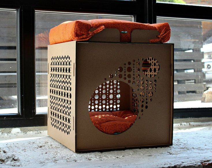 Cardboard cat house kitten house cardboard box modern cat