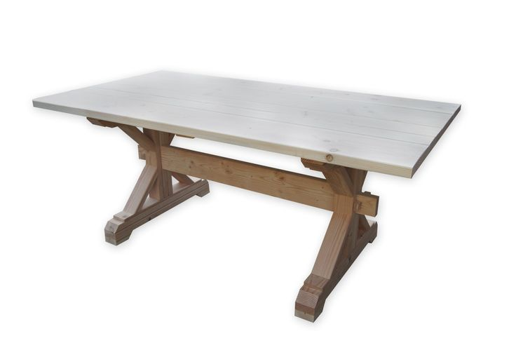 farmhouse trestle table diy kit trestle table diy kits