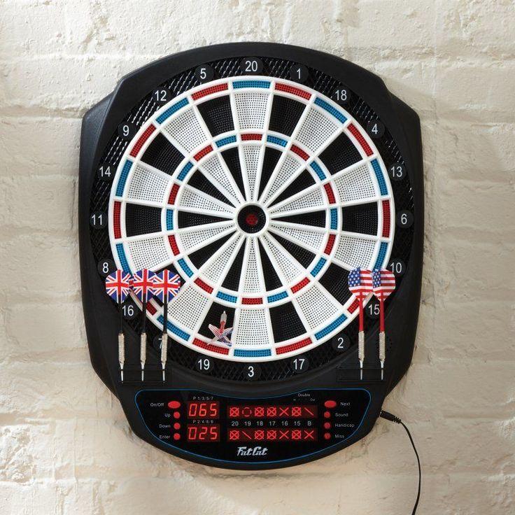 Fat Cat Rigel Electronic Dart Board - 42-1032