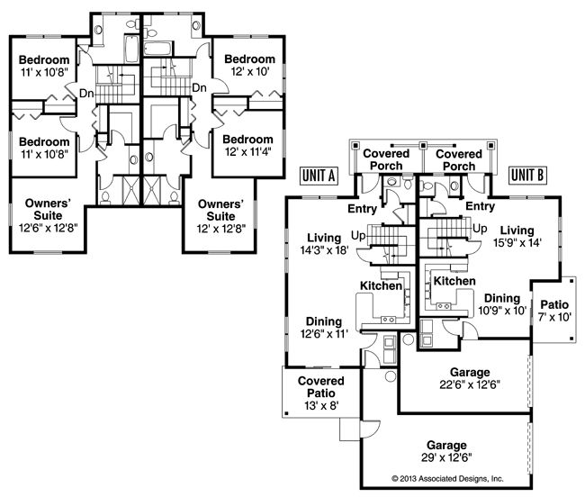 70 Best Images About House Plans Multi Family On