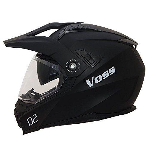http://motorcyclespareparts.net/voss-601-d2-dual-sport-helmet-with-integrated-sun-lens-and-ratchet-quick-release-system-xl-matte-black/Voss 601 D2 Dual Sport Helmet with Integrated Sun Lens and Ratchet Quick Release System - XL - Matte Black