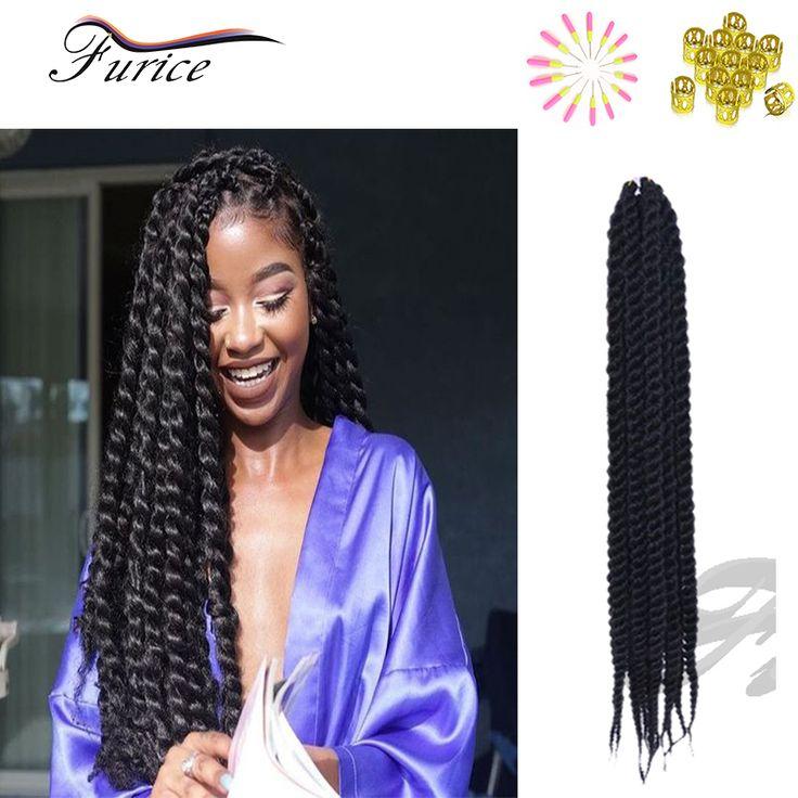 "Popular Long Crochet Havana Twist Braids Senegalese Twist Jumbo Kanekalon Hair Extension 12"" 14"" 16"" 18"" 20"" 22"" 24"" Twist Braid"