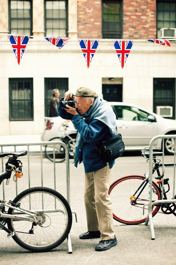 Union Jack + Cute old man = smile
