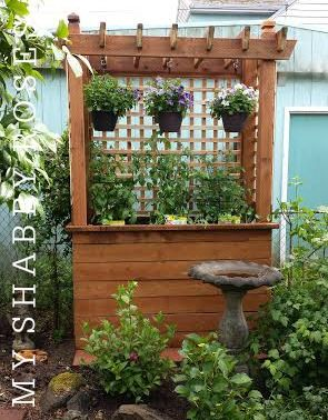 This Is A Beautiful Planter Box Privacy Screen My Husband