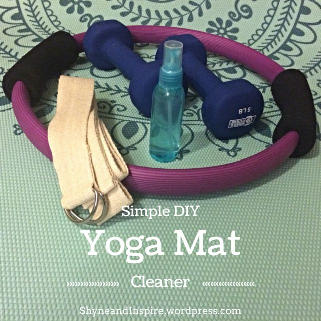 I use my yoga mat almost every day. I enjoy doing yoga, pilates, and just stretching on my rest days. Due to this constant use my yoga mat is covered in sweat and bacteria. Gross! This is why it's important to clean your yoga mat regularly. I have seen advertisements for different brands of yoga mat cleaner, but why pay for what you can DIY easily at home? With just a few ingredients I'll show you how to have your yoga mat germ free and smelling great in no time. Fitness | Clean Eating…
