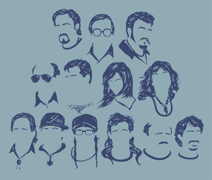 Trailer Park boys T-Shirt design by Chad Malone.  Residents of Sunnyvale:  Julian, Bubbles, Ricky, Lahey, Randy, Lucy, Sarah, Ray, J-Roc, Corey, Trevor, Phil Collins, and Jacob