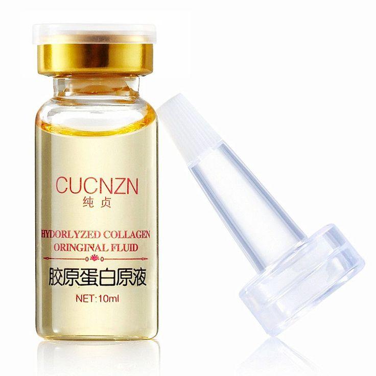 1PCS Collagen Liquid Face Cream Anti Aging Collagen Serum Anti-Fine-lines Whitening Cream Skin Care Moisturizing Renew Face Care