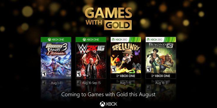 Juegos con Gold Xbox One y Xbox 360 | Agosto 2016