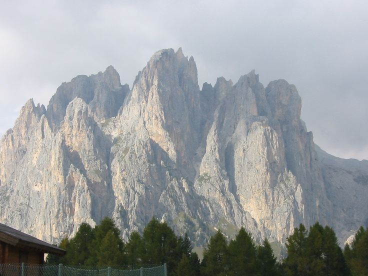 Dolomites in northern Italy. Renny Harlin's Cliffhanger was shot here.