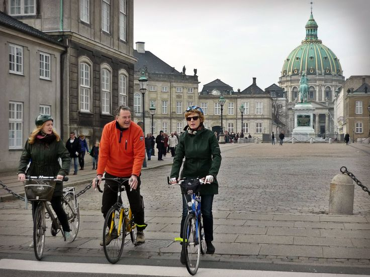 Amalienborg Palace - four rococo palaces from 1750-1758