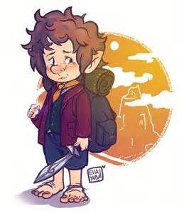 Chibi Bilbo Baggins Bilbo baggins!