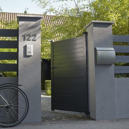 25 best ideas about aluminium fencing on pinterest for Portillon de jardin