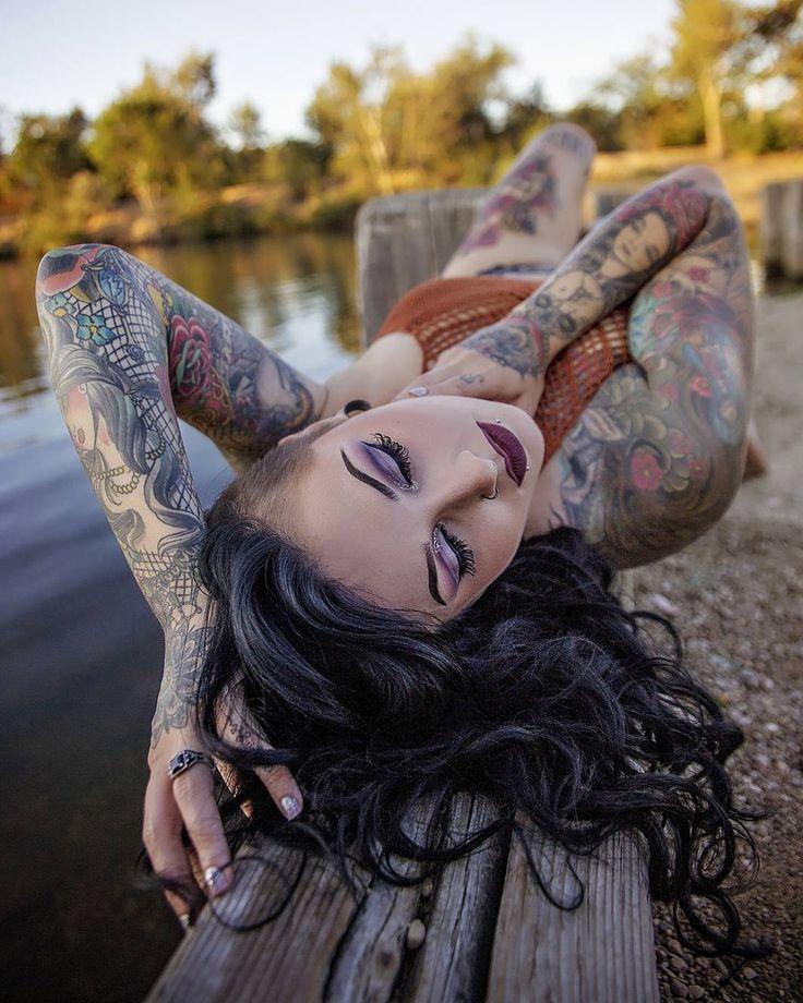 Tattoo girl lza pics #9