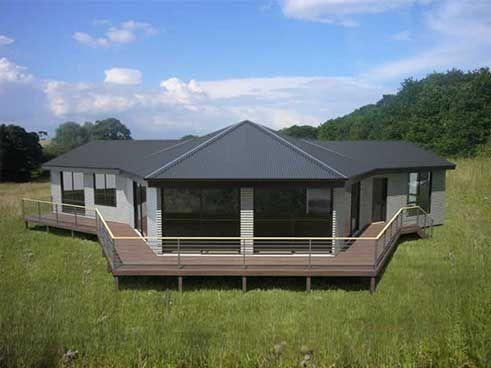 Modern Modular Home Kits | ReadyMade magazine's Build Your Own Modular Dwelling blueprint kit ...