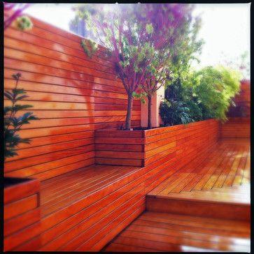 deck planter and storage box design - Google Search