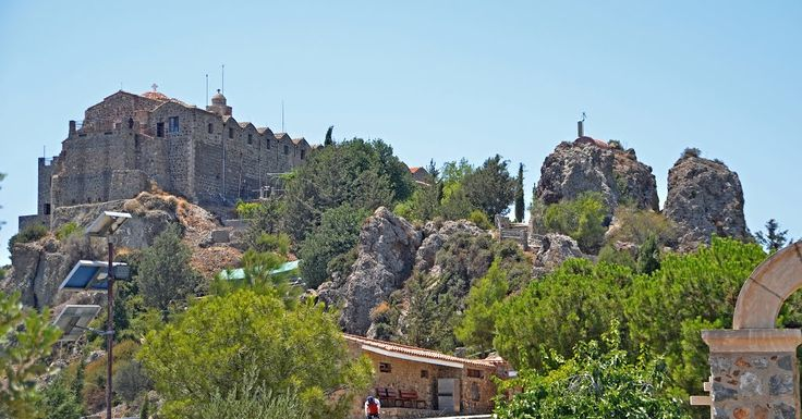 One of the three Holy Crosses from Mount Golgotha was hosted for many decades by Stavrovouni monastery, but how did it get there?  Find our here: http://monasteryworldwide.com/stavrovouni-monastery-greece/