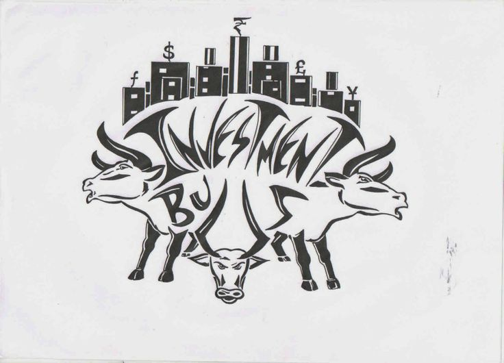 logo of investment bulls!!