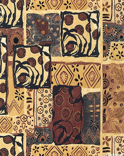 Woodblock - Design Sampler - English Toffee