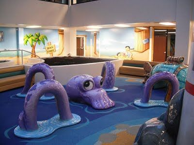 Worlds of Wow - Kids sculpted sea created play attraction at Trinity Baptist Church, Lake Charles, LA.