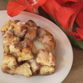 Cinnamon French Toast Bake – using canned cinnamon rolls - Great for Feeding A Crowd during the Holidays