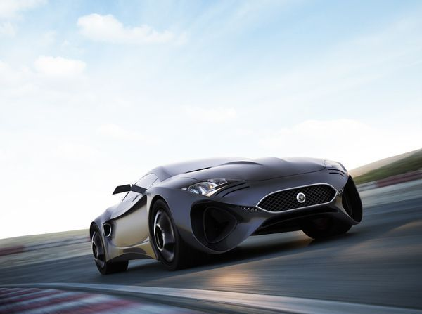 Jaguar XKX Car Concept By Hussain Almossawi U0026 Marin Myftiu Inspired By The  Vintage Jag E Type Of The Your Jaguar XKX Concept Finds Au2026