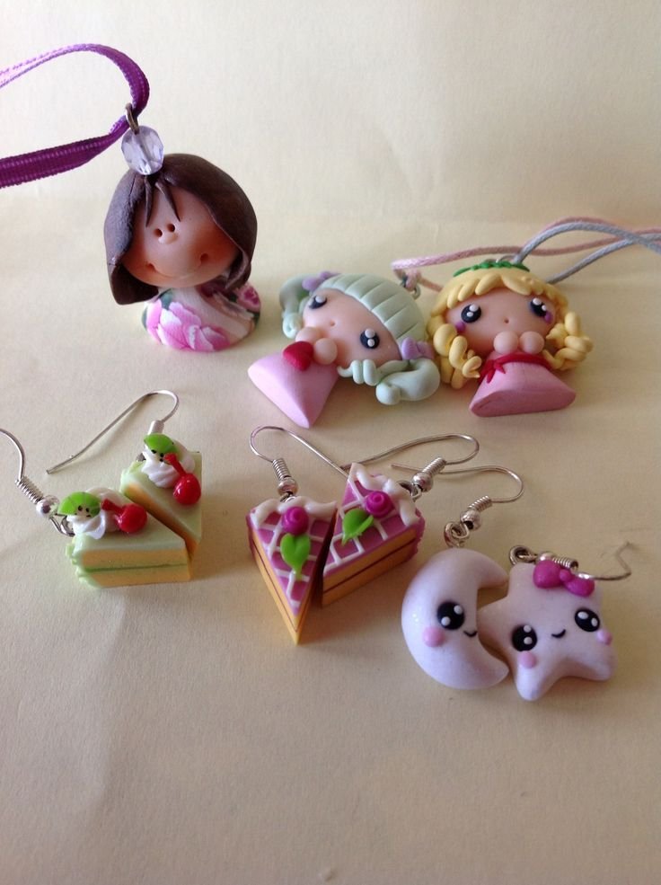 Fimo charms. I feel inspired.