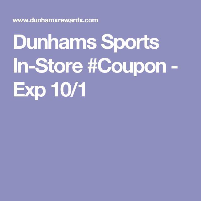 photograph relating to Dunhams Coupons Printable named Dunhams sports activities shop : Viagogo lower price code