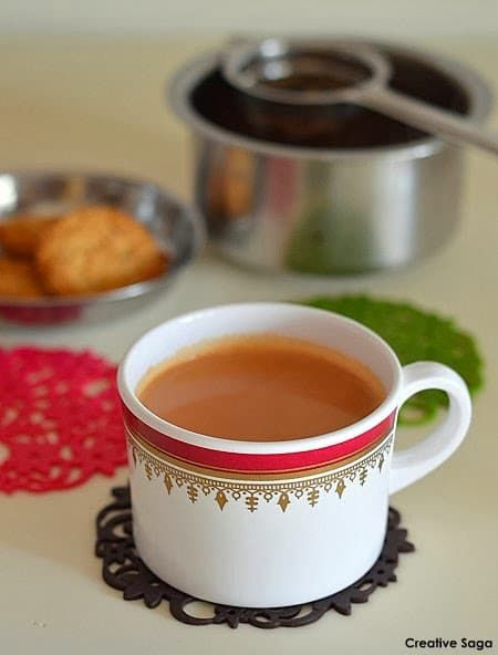 How to make tea- With jaggery -Gud ki chai-  hot beverages recipes - Powered by @ultimaterecipe