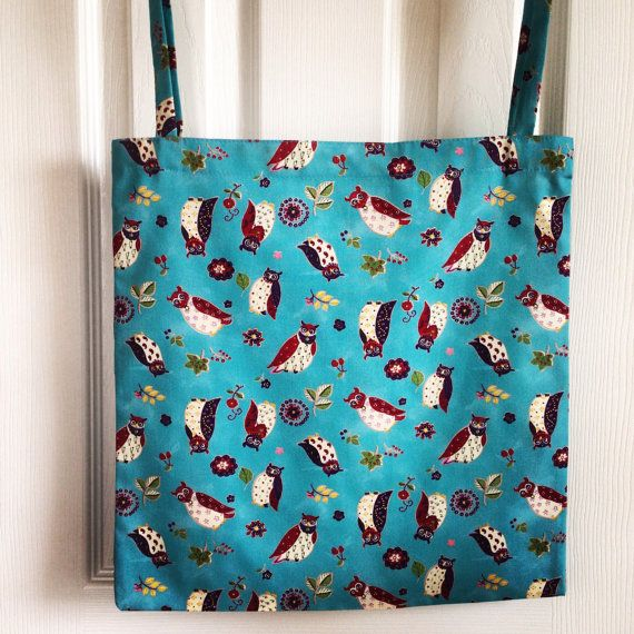 Owls Tote on Etsy, £8.00